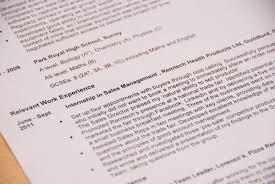 Cvs Summer Internship The 1 Page Vs 2 Page Cv Resume Dilemma What Should My Cv