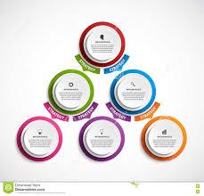 Organization Chart Design Template Infographic Design Organization Chart Template Stock Vector