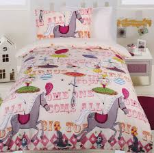 Circus Girls glow in the dark quilt cover set from Kids Bedding ...