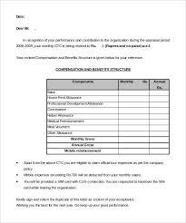 40 Sample Appraisal Letters PDF DOC Free Premium Templates Impressive Increment Form