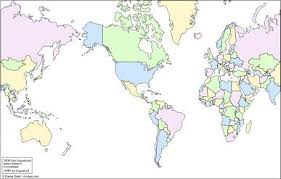 Free Printable World Map