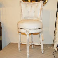 unusual decorative vintage swivel dressing table chair a11227