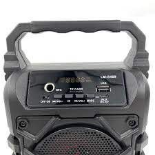 Loa karaoke bluetooth không dây LM-S409 cao cấp có led nháy siêu đẹp, âm  thanh cực hay - Loa Bluetooth Nhãn hiệu No Brand