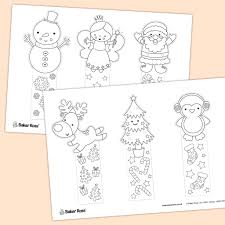You can find countless numbers free of charge computer download in our internet site. Christmas Bookmarks Free Craft Ideas Baker Ross