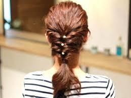 ミディアムロングの方にオススメくるりんぱで簡単エビ編み込みヘア