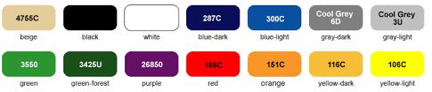 Komatex Pvc Colors