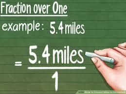 Kilometers To Miles Conversion Chart Pdf How To Convert Miles To Kilometers 9 Steps With Pictures