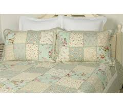Cayman Rose patchwork quilt &  Adamdwight.com