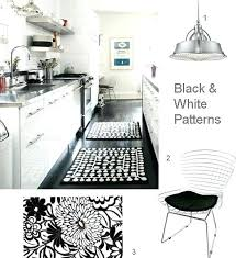 blue and white striped kitchen rug black check rugs design runner strikingly majestic remarkable grey