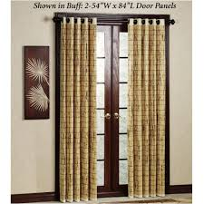 home design bamboo door curtains beautiful roman shades from for sliding glass door decor ideas