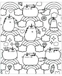 Pusheen coloring pages for kids. Pusheen Free Printable Coloring Pages For Kids