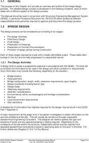 Bridge Design Considerations Structures Engineering Design Manual Pdf Free Download
