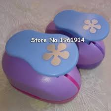 Flower Shaped Paper Punches New Design 2pcs Petal 1 5cm And 2 4cm Craft Punch Set