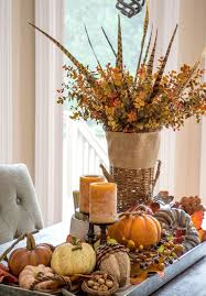 Rustic Fall Table Centerpieces