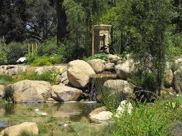 Garden:Stone Garden House Sculpture Idea Small Garden Pond With Natural  Stone Decor