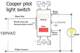 how to wire cooper 277 pilot light switch readingrat net Light Switch Wiring Diagram For Cooper how to wire cooper 277 pilot light switch Double Light Switch Wiring Diagram