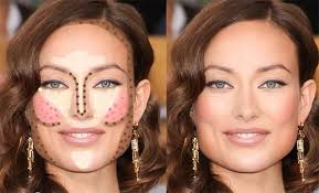 amazing makeup tricks to slim your round face