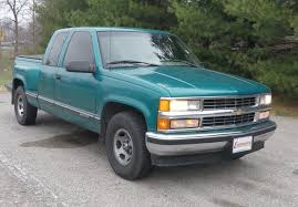 Silverado 96 chevrolet silverado : 1996 Chevrolet C1500 Silverado Extended Cab Sportside 4X2|P10784A ...