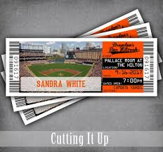 Orioles Baseball Bar Mitzvah Place Card Tickets Giants Bat Mitzvah Seating Chart Template For Escort Tags Folded Tented Name Cards