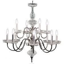 crystorama lighting group hot deal pewter 12 light chandelier