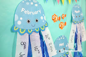 Under The Sea Birthday Chart 5 Fun And Unique Birthday Wall Ideas Printable Displays