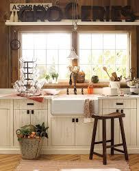 pottery barn bench style office desk rustic. Charming Country Kitchen Pottery Barn Bench Style Office Desk Rustic