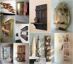 Recycled Pallet Shelving Ideas