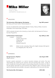 Example Of Modern Resume 22 25 Best Modern Cv Sample Images On