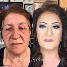 transformation earlier in the year he transformed this 70 old woman
