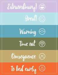 Time Out Chart For Toddlers Behavior Chart Consequence Jar And Bored Jar Preschool