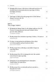 africa s media image in the st century from the heart of   ami table of contents page 2