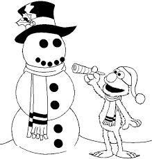 Small Picture Number 3 Coloring Page Sesame Street Free Coloring Page Today