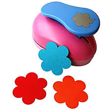 Paper Punches Flower Amazon Com Cady Crafts Punch 3 Inch Paper Punches Craft Punches