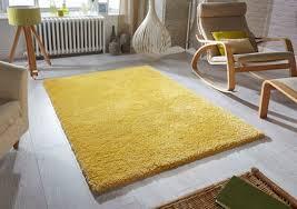 softness mustard rug