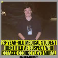 George Floyd mural ...