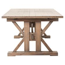 awesome modern dining room reclaimed pine round dining table full size