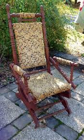 victorian platform rocking chair rocker 1800 s