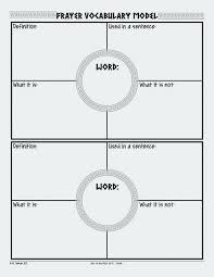 Frayer Card Blank Frayer Model Template Luxury Block Diagram Template Blank