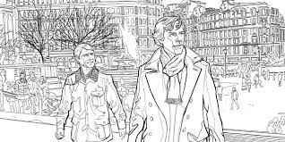 Sherlock The Mind Palace The Official Colouring Book Amazon Co Uk