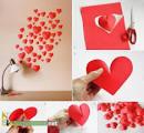 Сердечки на стену шаблоны