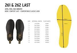 Skechers Shoe Size Chart Inches Fox Comp 5 Size Chart