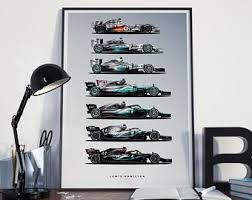 Mercedes opened talks with williams about borrowing the briton, who has been backed by the silver arrows throughout his career, for the second bahrain race when. Mercedes F1 Etsy