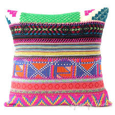 Ethnic floor cushions Flat Floor Pink Dhurrie Patchwork Colorful Throw Boho Bohemian Sofa Couch Cushion Pillow Cover 16 24 Lionshome Pink Dhurrie Patchwork Colorful Throw Boho Bohemian Sofa Couch