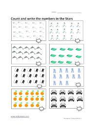 Counting Worksheets Kindergarten Pictures Printable Number Preschool ...
