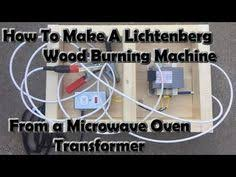 how to make and wire the microwave transformer for lichtenberg making a lichtenberg wood burning machine from a microwave transformer