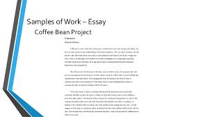 career development portfolio samples of work essay case study