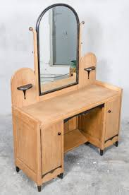 Dutch Art Deco Dressing Table With Mirror 1930s For Sale At Pamono In Art  Deco Mirrored