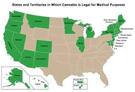 states who have legalized pot