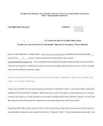 Sample Press Release For Book Press Conference Template Microphones For How To Write A Book