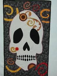 27 best Skull Quilt Ideas images on Pinterest | Appliques ... & Skull Quilt 4 Adamdwight.com